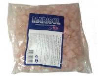 Креветки очищенные варено-мороженные в упаковке 500гр