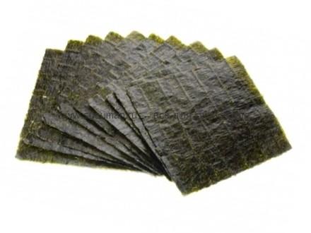 Водоросли для приготовления роллов и суши 10 листов