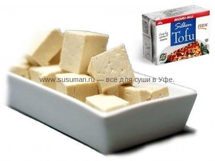 Сыр творог Тофу соевый белый квадратный