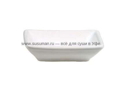 Белый подсоусник каменная керамика
